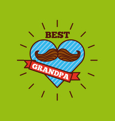Best grandpa design vector