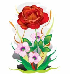 bouquet of colors vector image