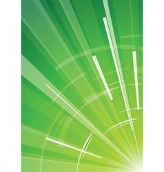 abstract green vector image