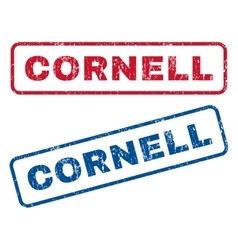 Cornell rubber stamps vector