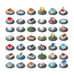 isometric icon vector image vector image