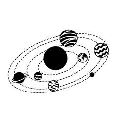 Universe milky way background vector