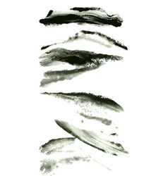 Brushes set vector