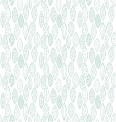 pattern leaves vector image