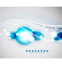 Abstract circle background vector