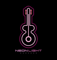 Neon light vector