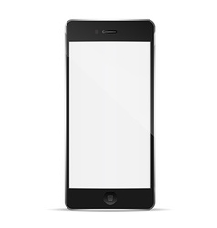 Perfectly detailed modern smart phone vector