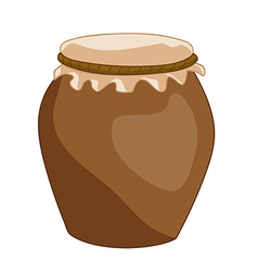 Clay pot vector