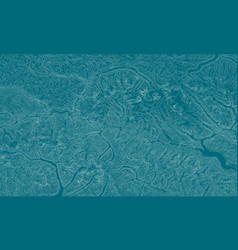 Abstract earth relief map generated vector