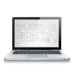 Laptop Concept vector image