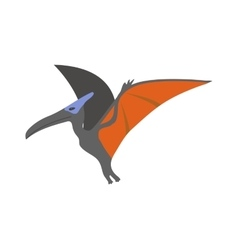Pterodactyl dinosaur vector image
