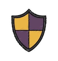 shield icon image vector image
