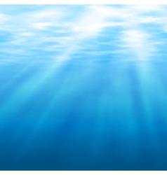 Undersea light vector