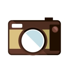 Photographic camera ico vector