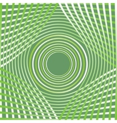 Green abstract decorative background tile with vector