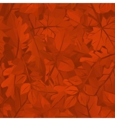 Autumn Leaves Low Poly vector image vector image