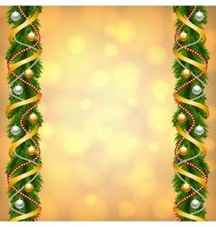 fir-tree decoration vector image
