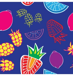 fruity pattern1 vector image
