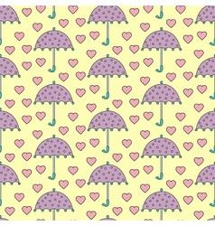 Romantic rain vector