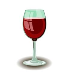 Wineglass vector image
