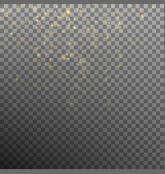 Abstract gold bokeh background eps 10 vector
