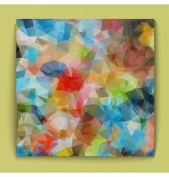 Background bright polygonal vector