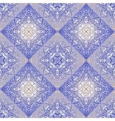 Delicate white pattern vector