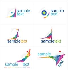 Design elements icons set vector