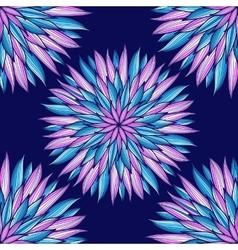 Mandala Colorful round ornament vector image vector image