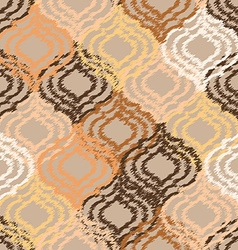 Ogee fabric seamless background vector image vector image