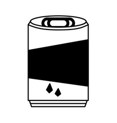 soda can isolated icon vector image vector image