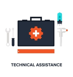 Technical assistance vector