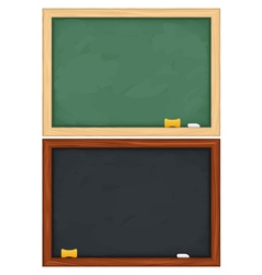 Blackboards vector