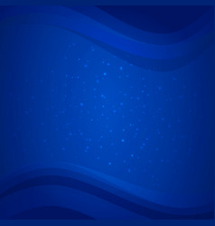 blue deep sea background with water waves vector image vector image