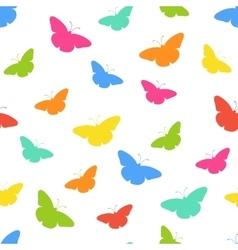 Butterflie pattern vector image
