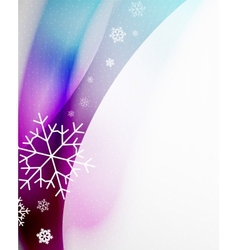 Christmas blur wave vector image