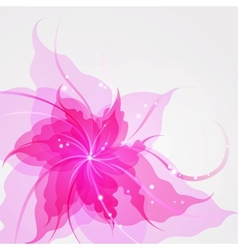 Eps10 colorful flower background vector