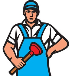 Plumber Icon vector image