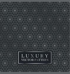 Luxury seamless ornate pattern - grid gradient vector