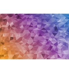 Mosaic rainbow abstract templates vector