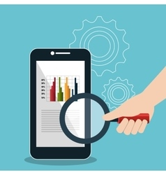 Search engine optimitation success business vector