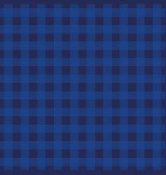 indigo tartan plaid background seamless pattern vector image