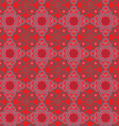Classic oriental pattern vector