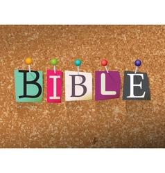 Bible concept vector