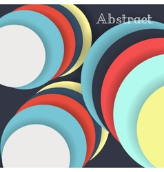 Colorful blank background - Design Concept vector image vector image
