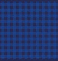 indigo tartan plaid background seamless pattern vector image