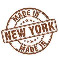 Made in new york vector