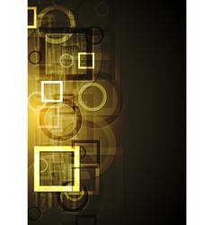 Bright technical design vector image