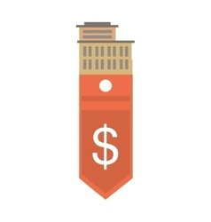 Real estate building price expenses value vector
