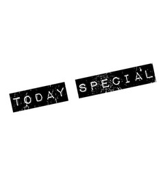 today special rubber stamp vector image